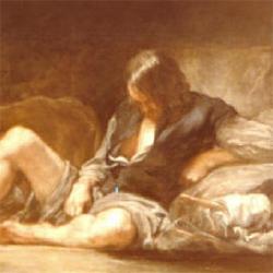 Au Prado, l'Argus de Velasquez ressemble curieusement à Ian.