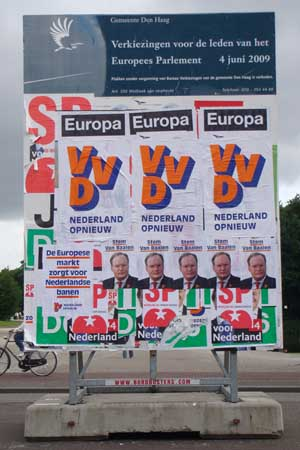 Ja tegen Europa.
